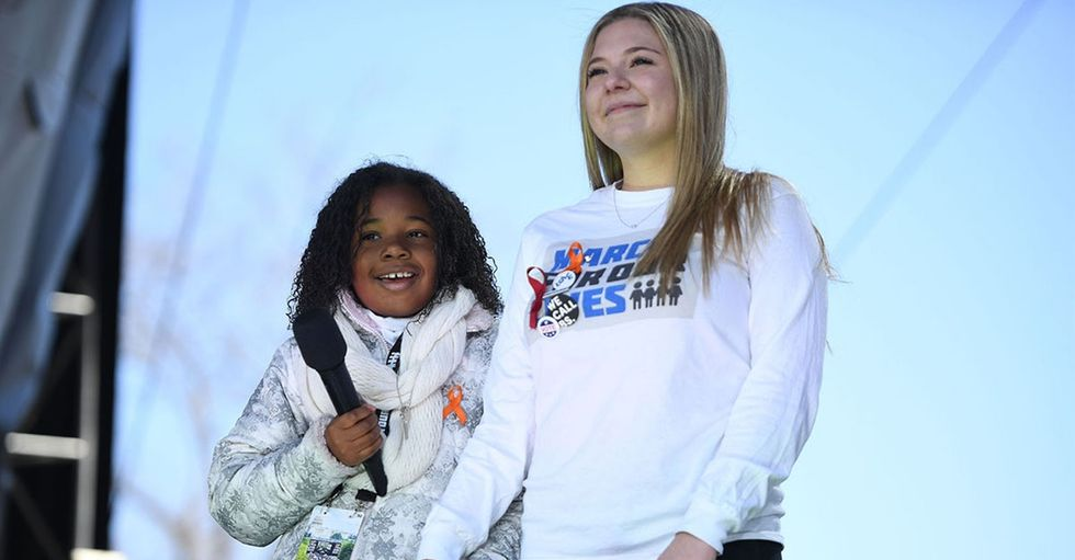 These little kids' speeches at the March for Our Lives remind us the future is bright.