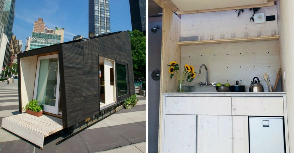 Could you live in this delightfully tiny home? Eco-advocates sure hope so.