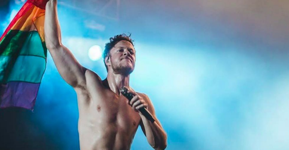 This photo of Imagine Dragons' Dan Reynolds is even more amazing with context.