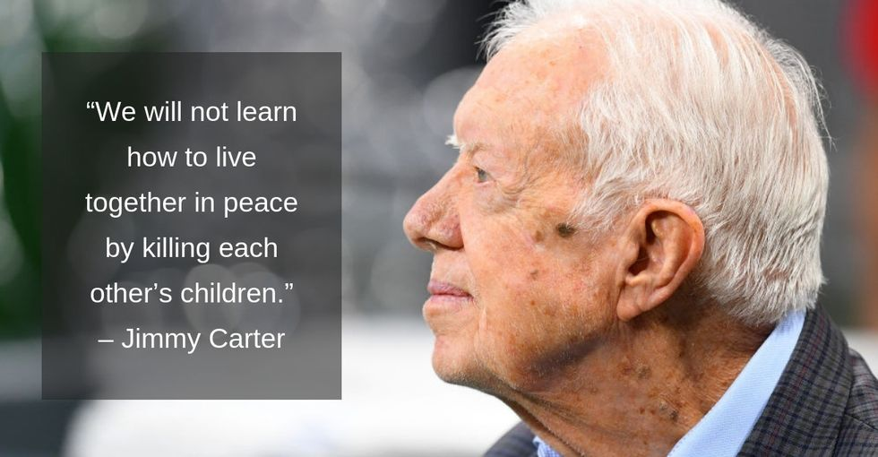 Some timeless bits of wisdom from Jimmy Carter, now the longest-living president in U.S. history.