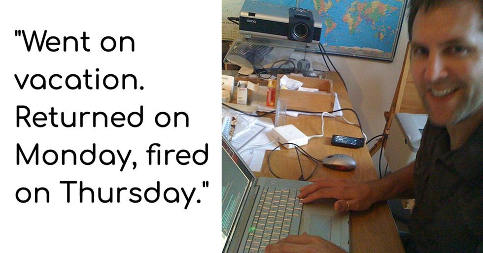 After getting fired, this guy's story ends in the best possible way.
