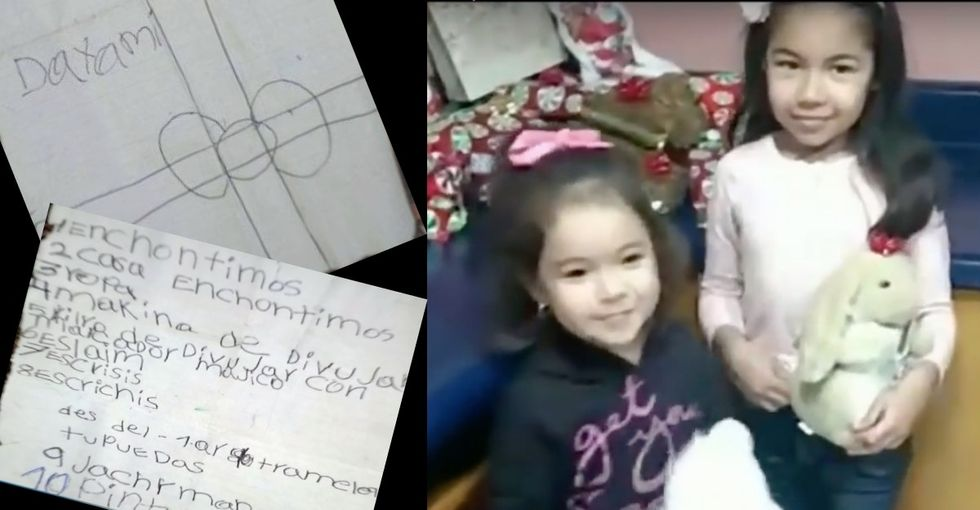 A balloon took her Christmas wish list from Mexico. A real-life Santa found it in the U.S.
