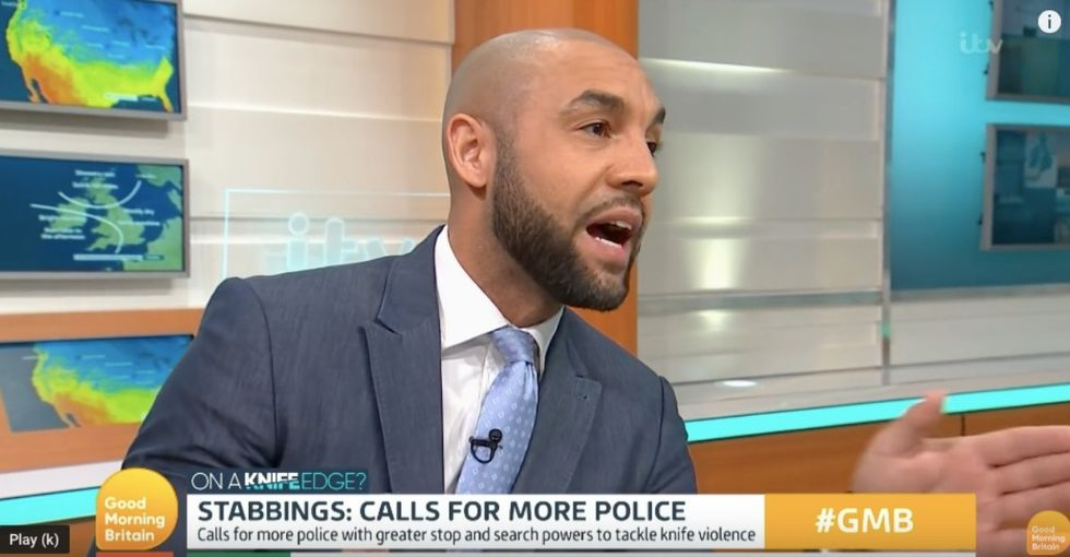 This British weatherman interrupted a live debate on crime with a point we all need to hear.