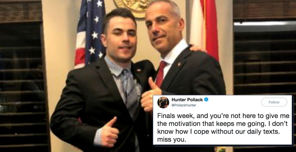Old texts from a Parkland victim are going viral for a heartbreaking, yet inspiring, reason.