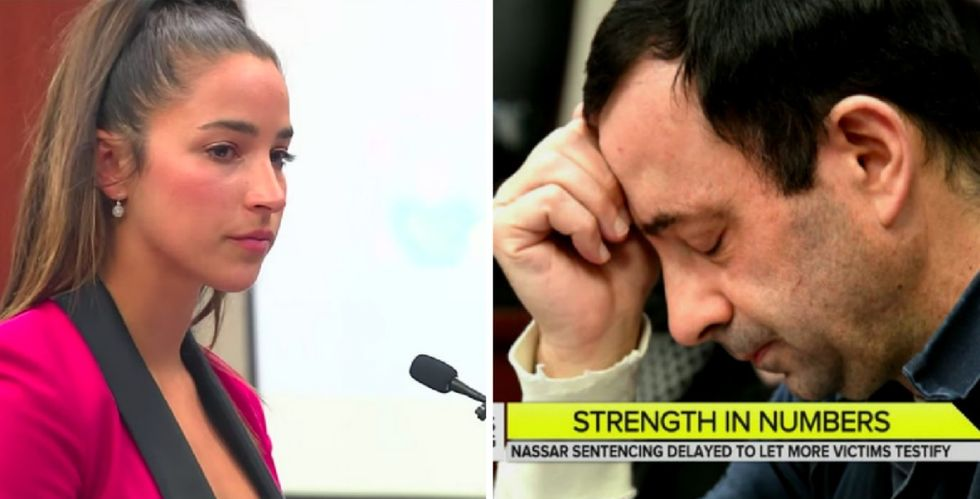 More than 150 women stood up and exposed Larry Nassar's unforgivable crimes to the world.