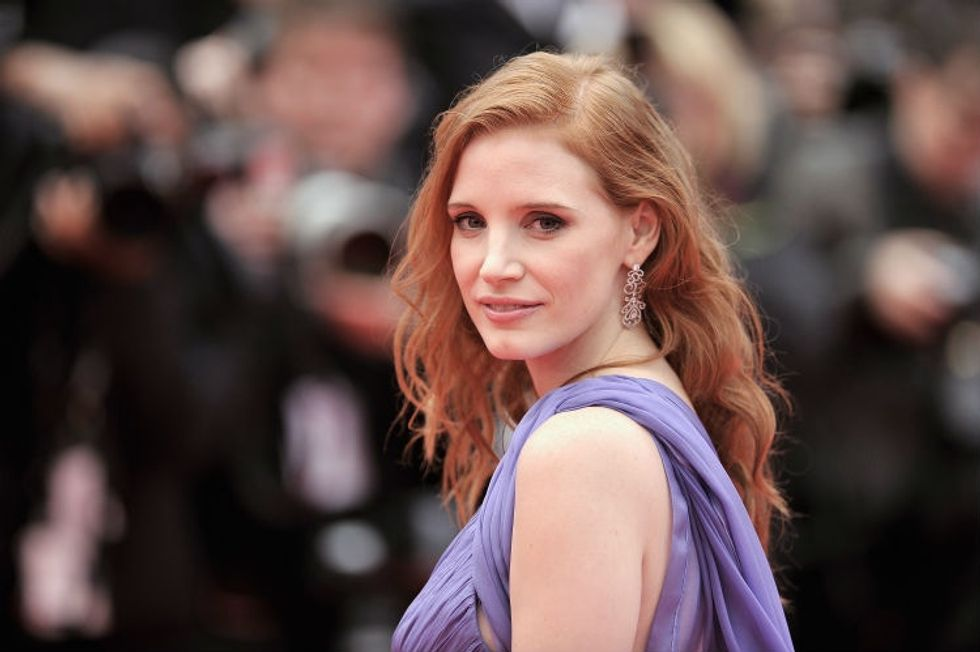 Jessica Chastain wants us to stop saying a certain phrase about men. She's right.