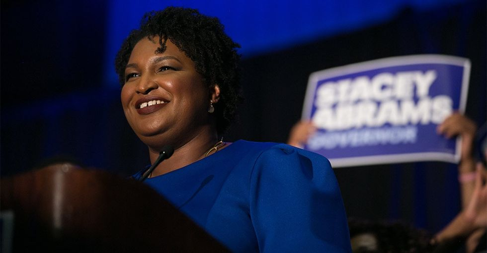 A black woman is a major party's candidate for governor. It's a groundbreaking first.