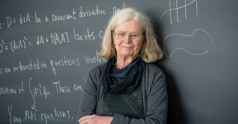 For the first time, the biggest prize in mathematics has been awarded to a woman.