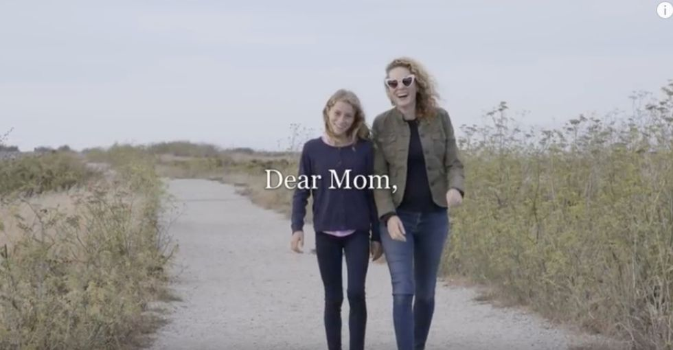 Grab a tissue, then read the 'You are enough' letters a mom and daughter wrote each other.