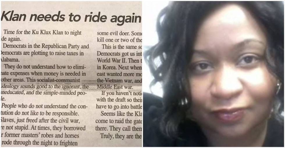 The Alabama woman who replaced a racist editor at her local newspaper has resigned.