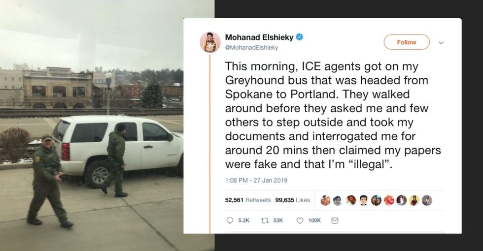 This man's encounter with border patrol should have us all brushing up on our legal rights.