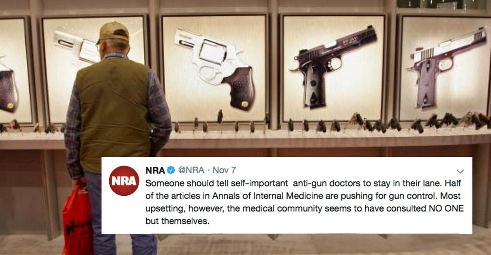 The NRA was rightfully lambasted after telling trauma doctors to 'stay in their lane.'
