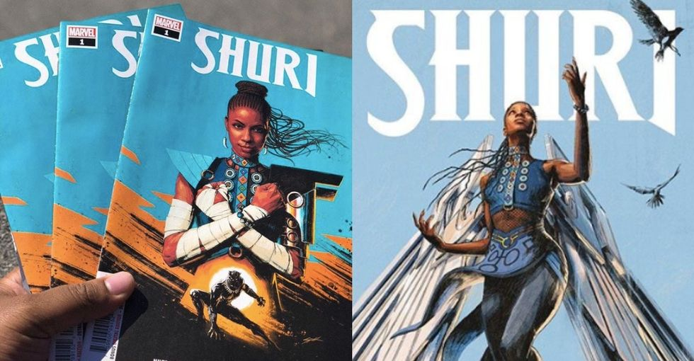Yes! Black Panther's badass innovator princess Shuri now has her own comic.