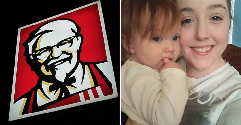 KFC demoted an employee for wanting to pump at work. She just won a $1.5 million lawsuit against them.