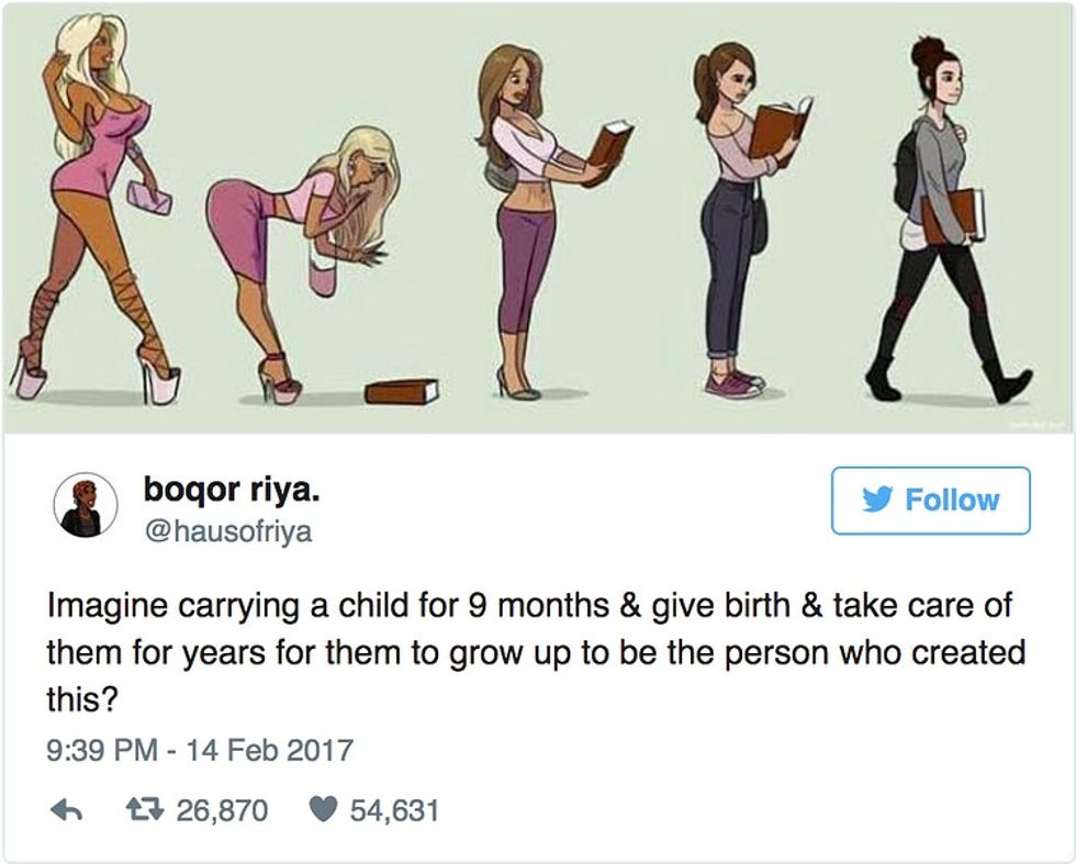 What everyone's getting wrong about this sexist cartoon.