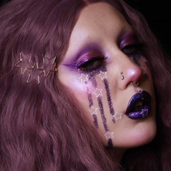 How This Artist Uses Makeup to Cope With Her Disability