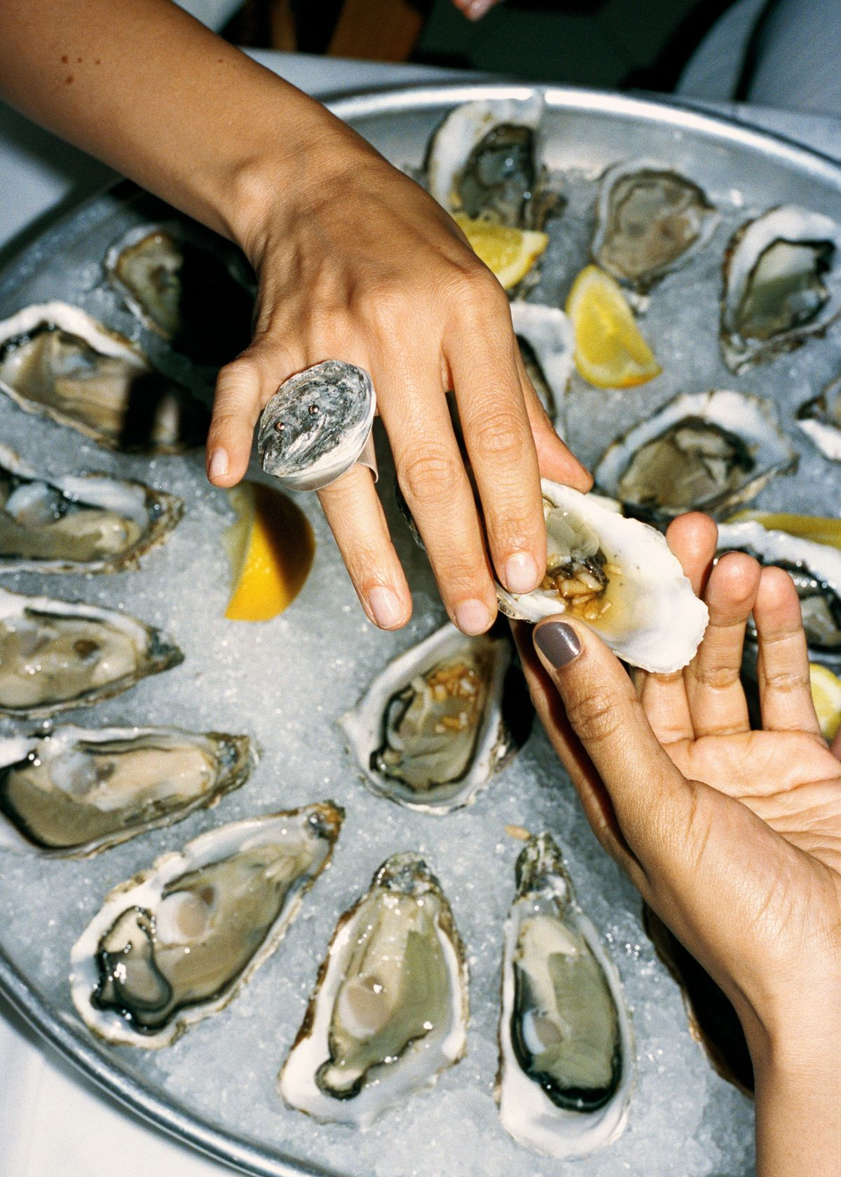 This Swedish Designer Turns Oysters Into Jewelry