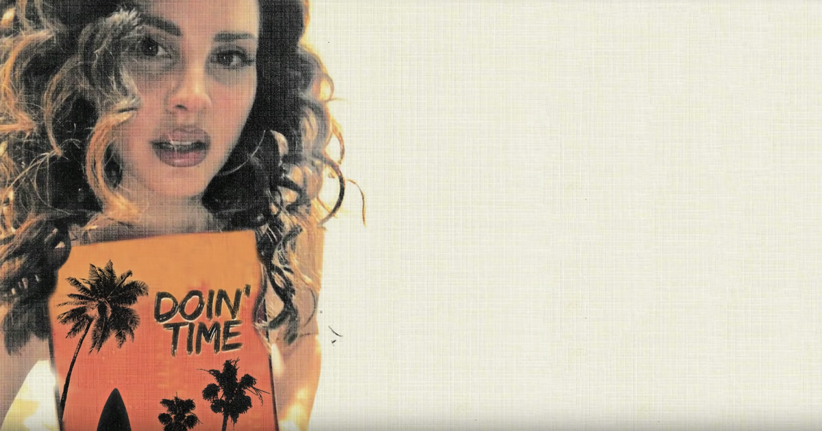 """Lana Del Rey Releases Perfectly Sultry Cover Of Sublime's """"Doin' Time"""""""