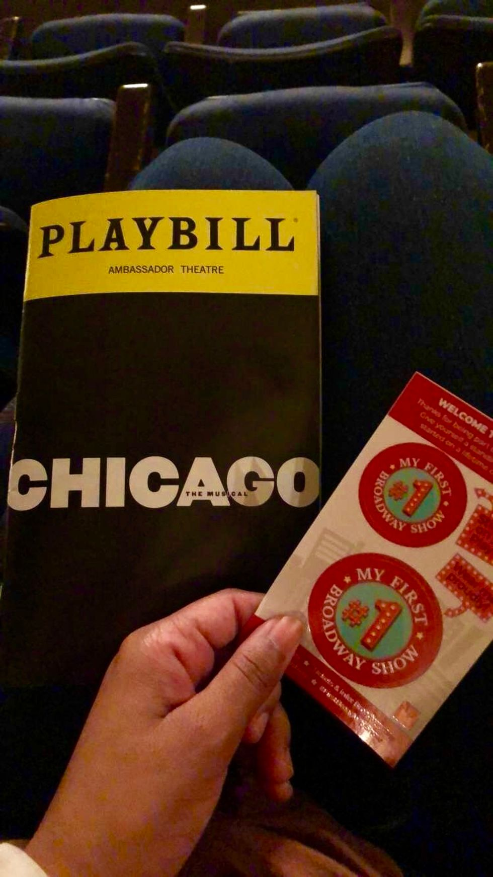 I Went To My First Broadway Show And It Was Tony-Worthy