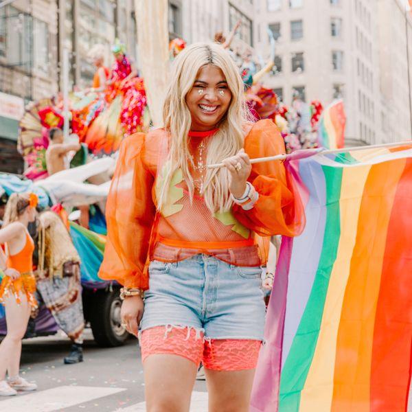 Hayley Kiyoko Rides for Pride