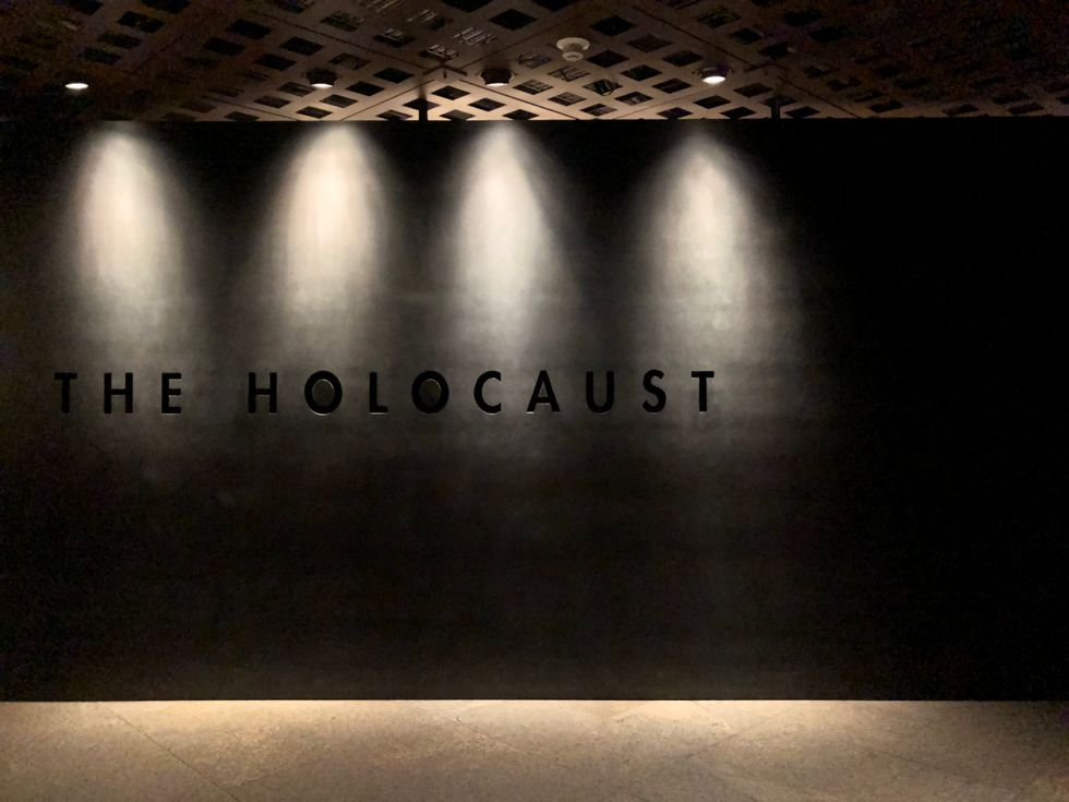 Visiting The Holocaust Memorial At Our Nation's Capital Was An Enlightening Experience
