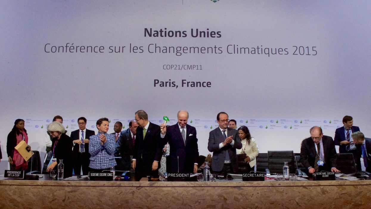 Is The World Ready to Get Serious About Climate Change? The Paris Agreement Says Non.