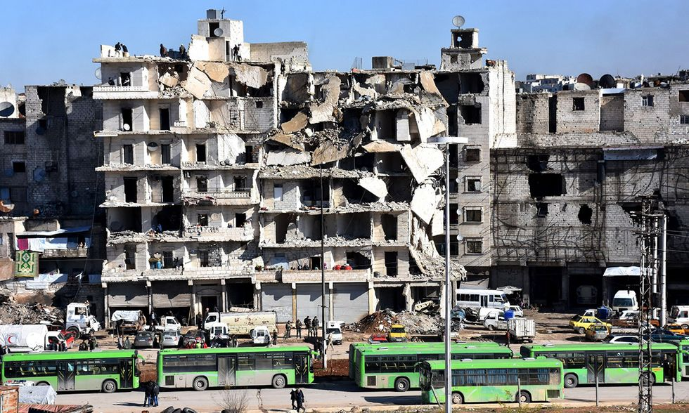 Guerra in Siria, Aleppo
