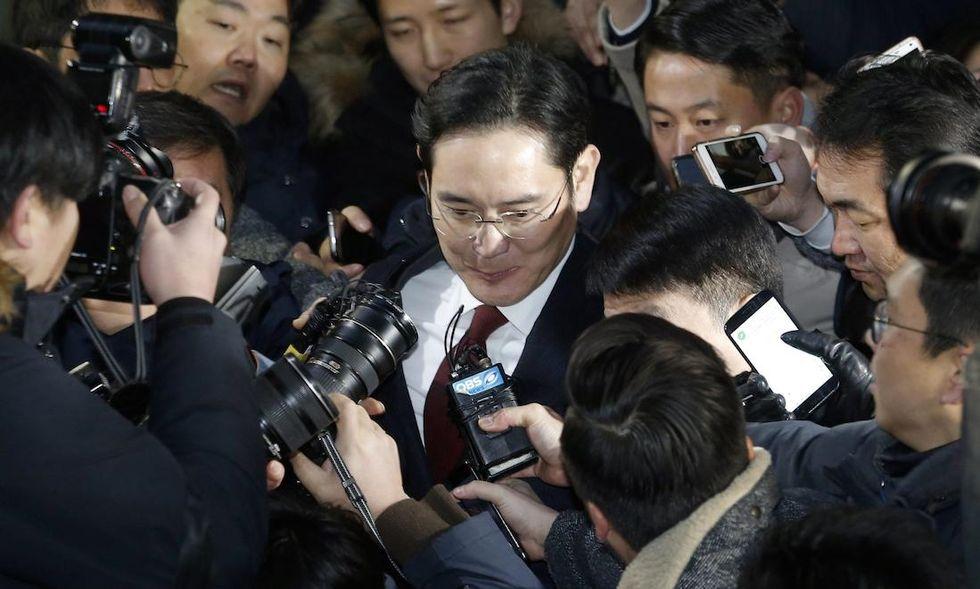 samsung corruzione corea del sud
