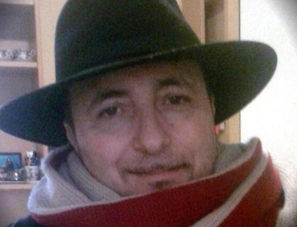 """Una foto tratta dal profilo Facebook di Pietro Petrullo, componente del gruppo """"Ladri di Carrozzelle"""", trovato impiccato in casa a Velletri, alle porte di Roma, 7 Febbraio 2017."""