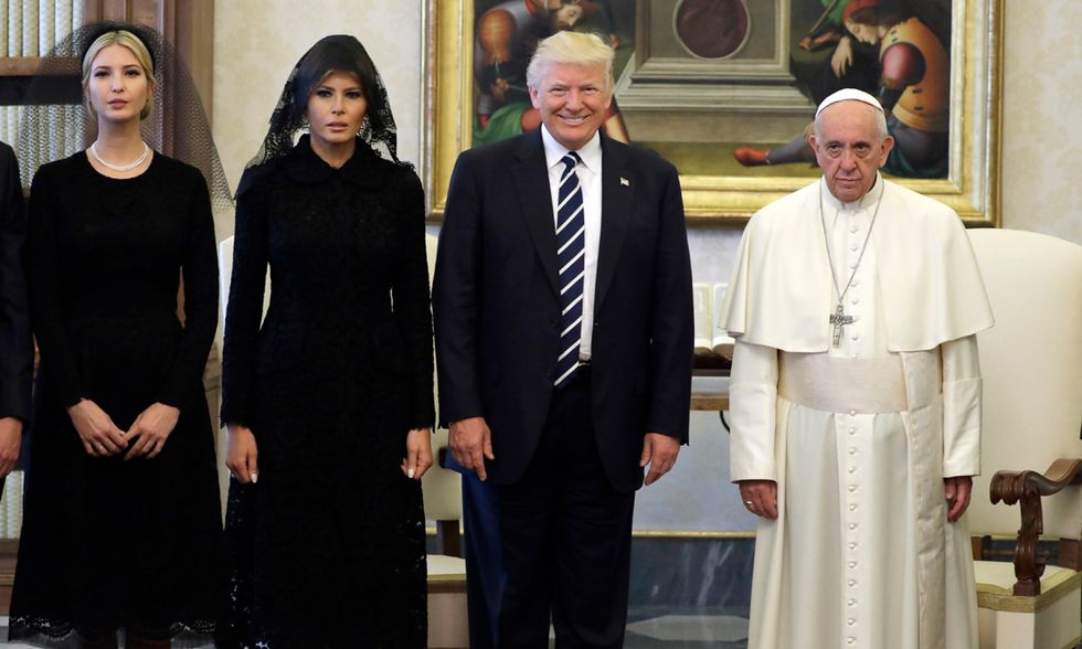 I Trump da Papa Francesco
