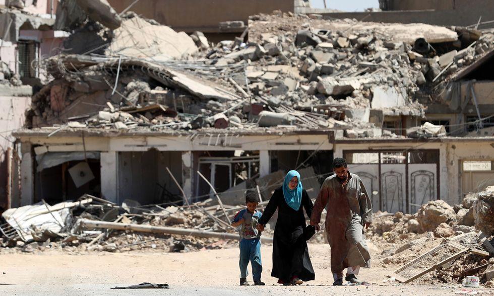 Battaglia di Mosul profughi