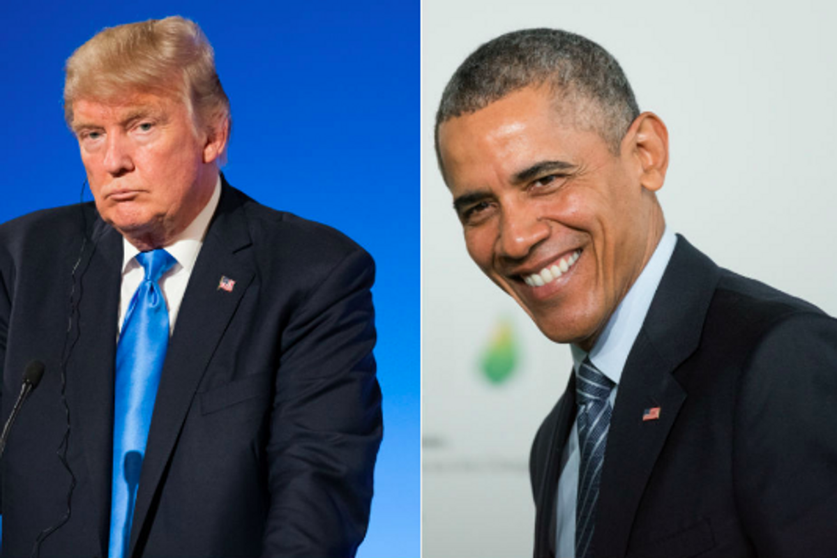 It's Donald Trump's birthday today. Let's join these people in celebrating Obama instead.
