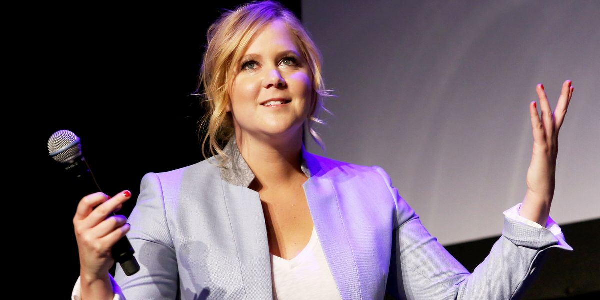 Amy Schumer Posts C-Section Scar After Underwear Backlash