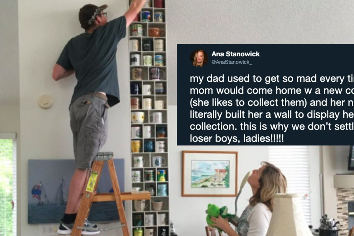 Woman's viral tweet about her mom's new boyfriend inspires a thread about second love.