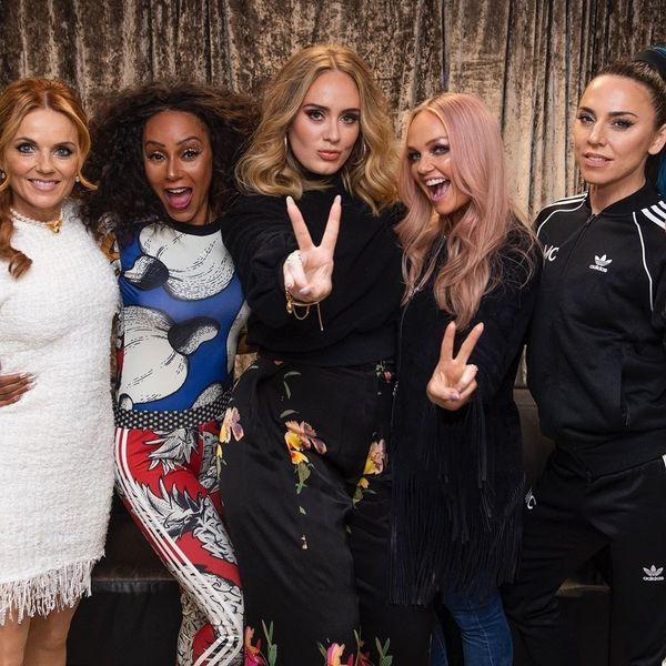 Adele Got Drunk With The Spice Girls
