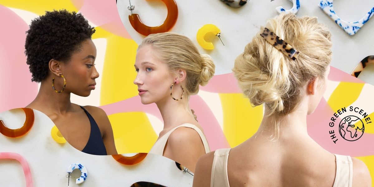 PSA: There's A Sustainable Option For Your Hair Clip And Hoop Earring Addiction
