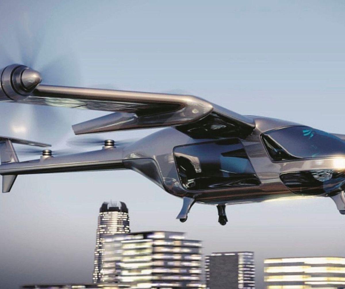 Doveva essere l'anno dei francesi. I taxi droni rubano la scena a Airbus