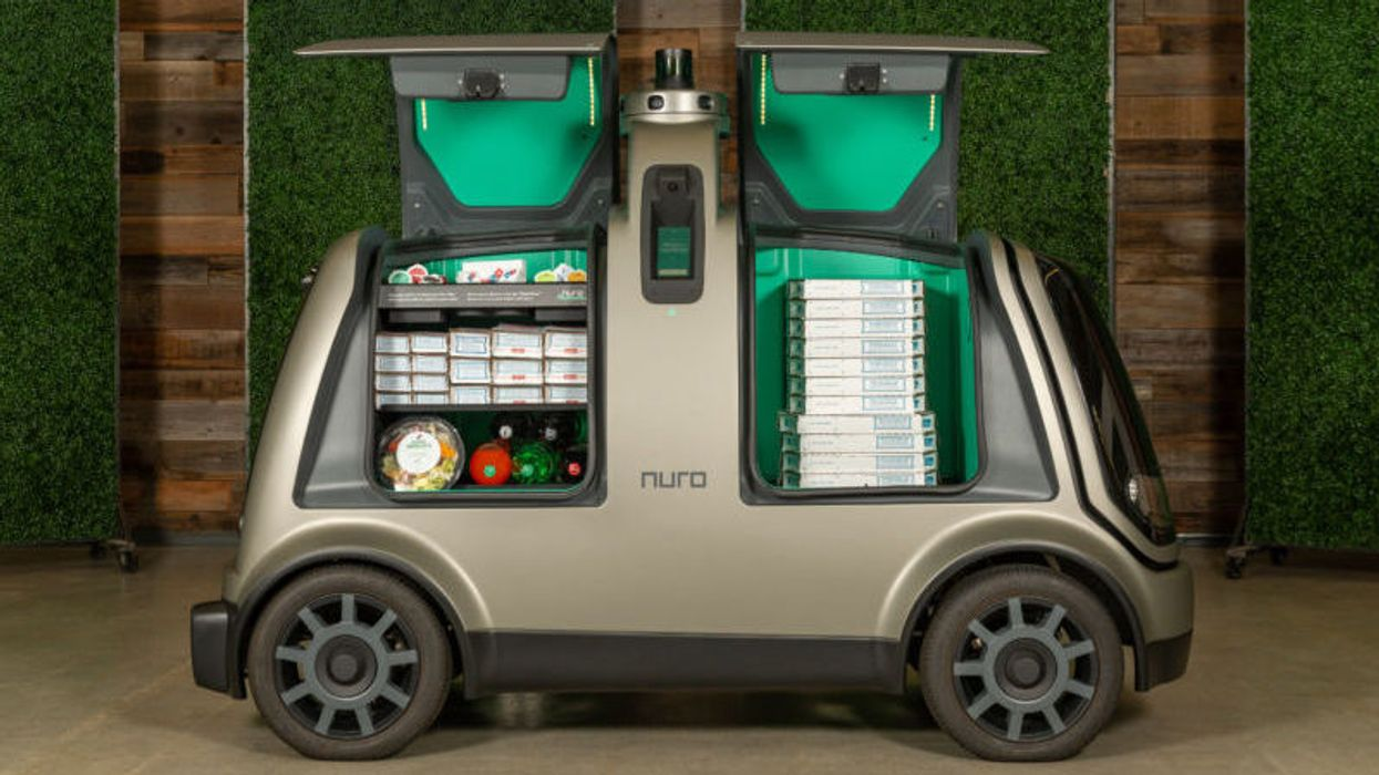 Robot pizza delivery coming later this year from Domino's