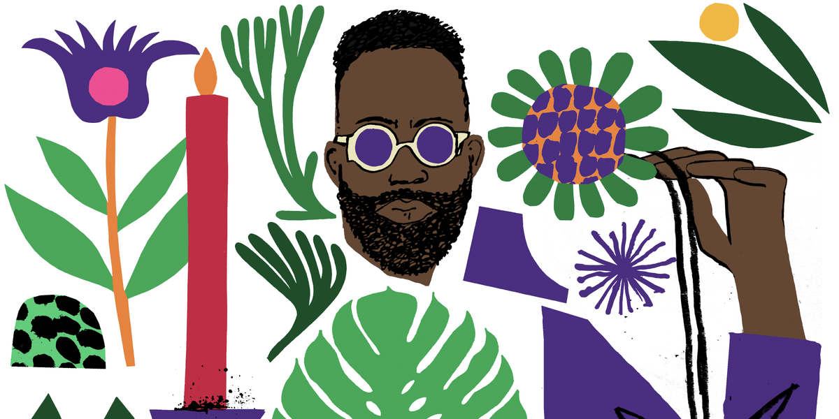 Maurice Harris: LA's Esoteric Floral Whiz
