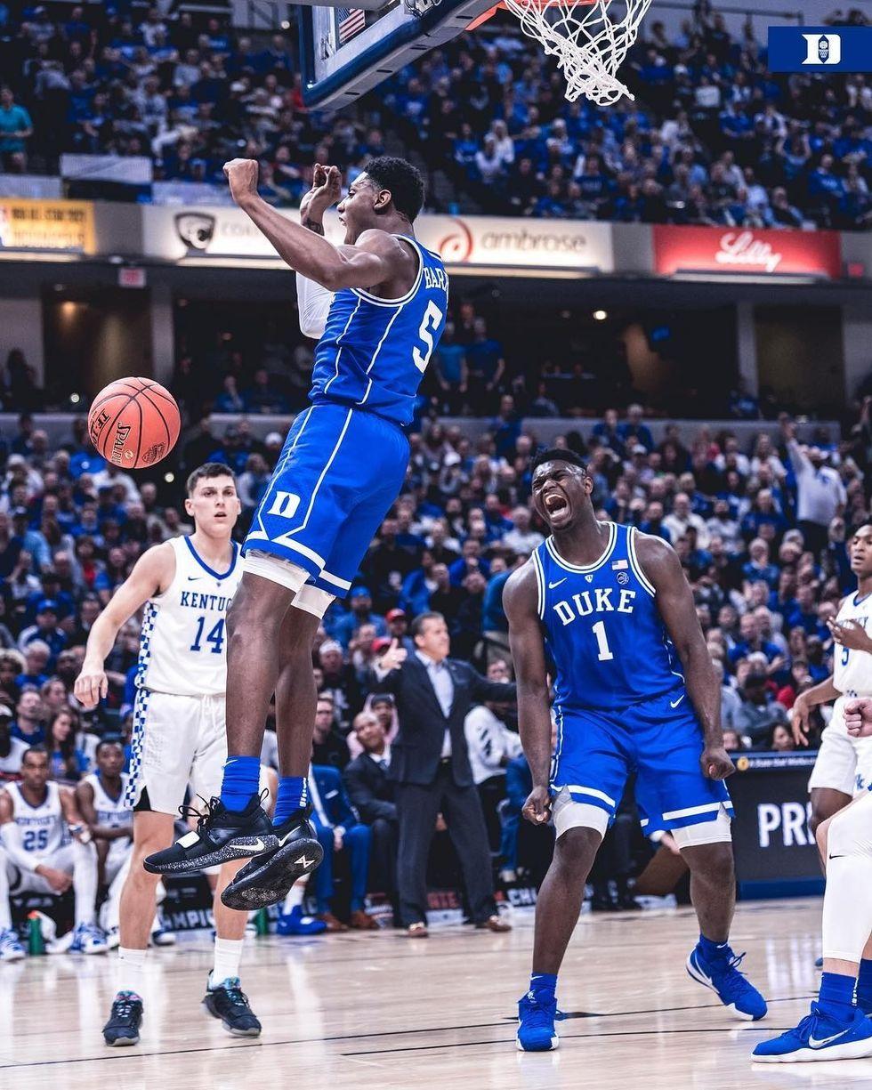Zion Led Duke Dominates Kentucky