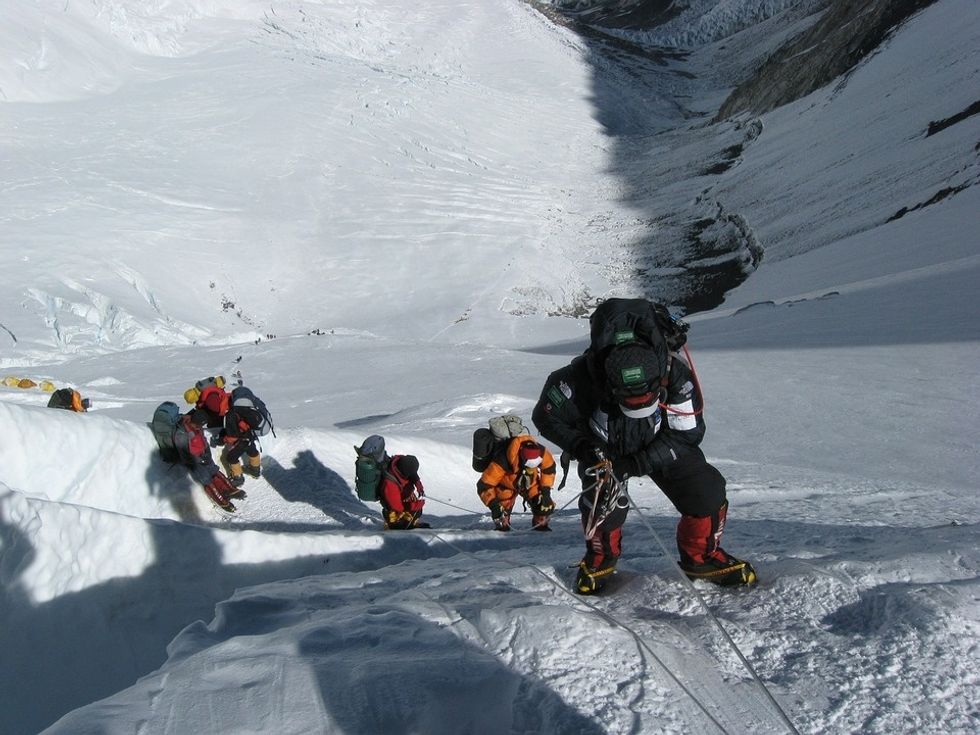 Someone Should Probably Do Something About All The Overcrowding On Mt. Everest