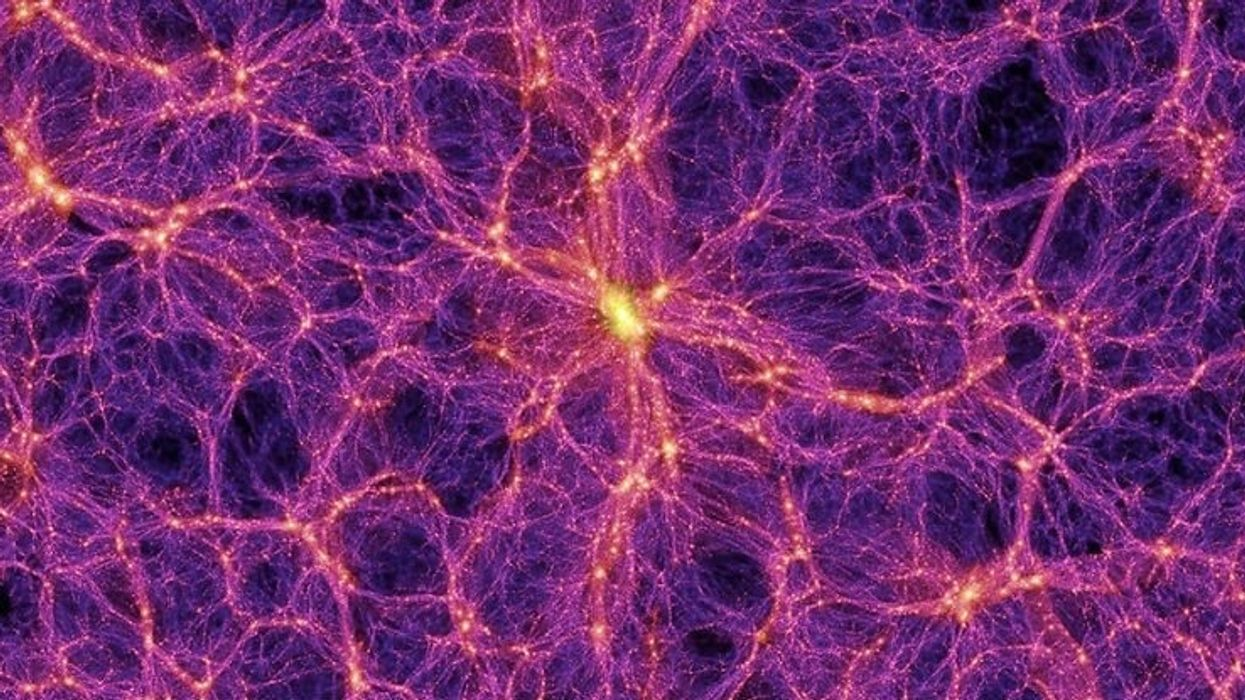 What is the cosmic web?