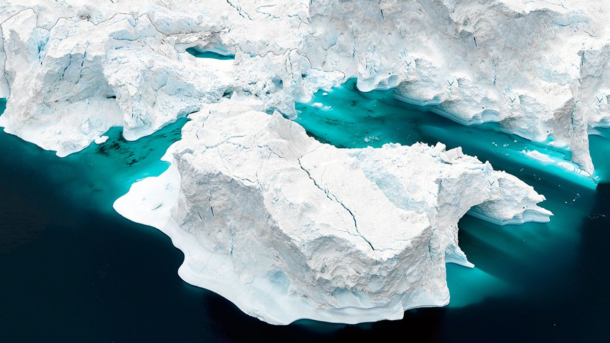 Greenland Temps Soar 40 Degrees Above Normal, Record Melting of Ice Sheet