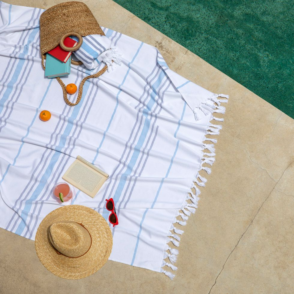 Brooklinen Hammam Beach Towel