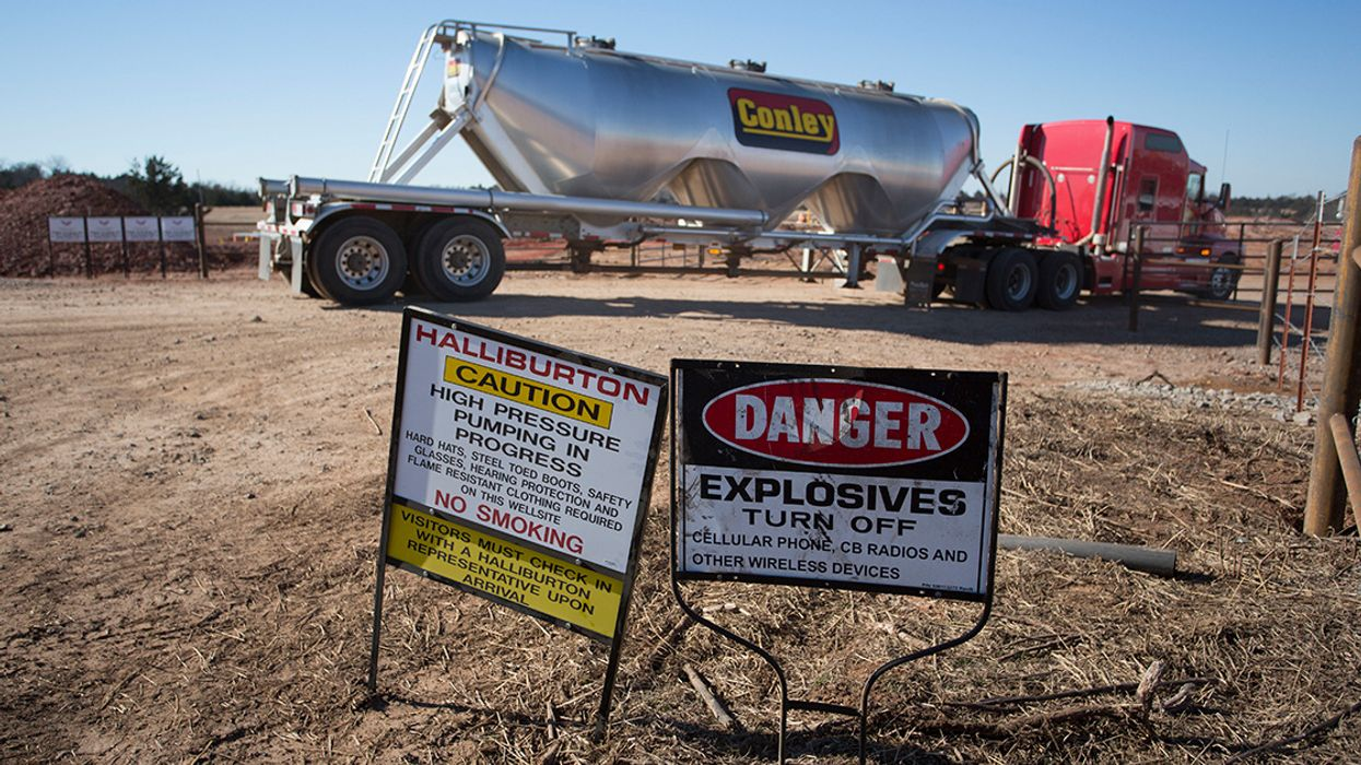 Toxic Waste Will Continue to Grow for Decades Even if All U.S. Drilling and Fracking Halts Today, New Report Says