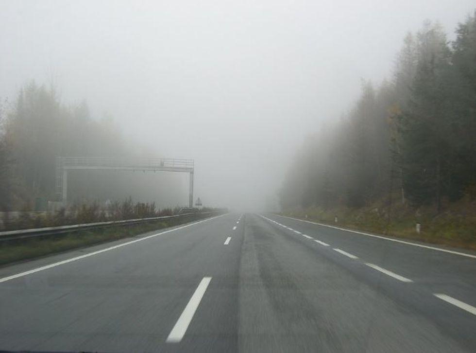 Life Is Like A Foggy Street