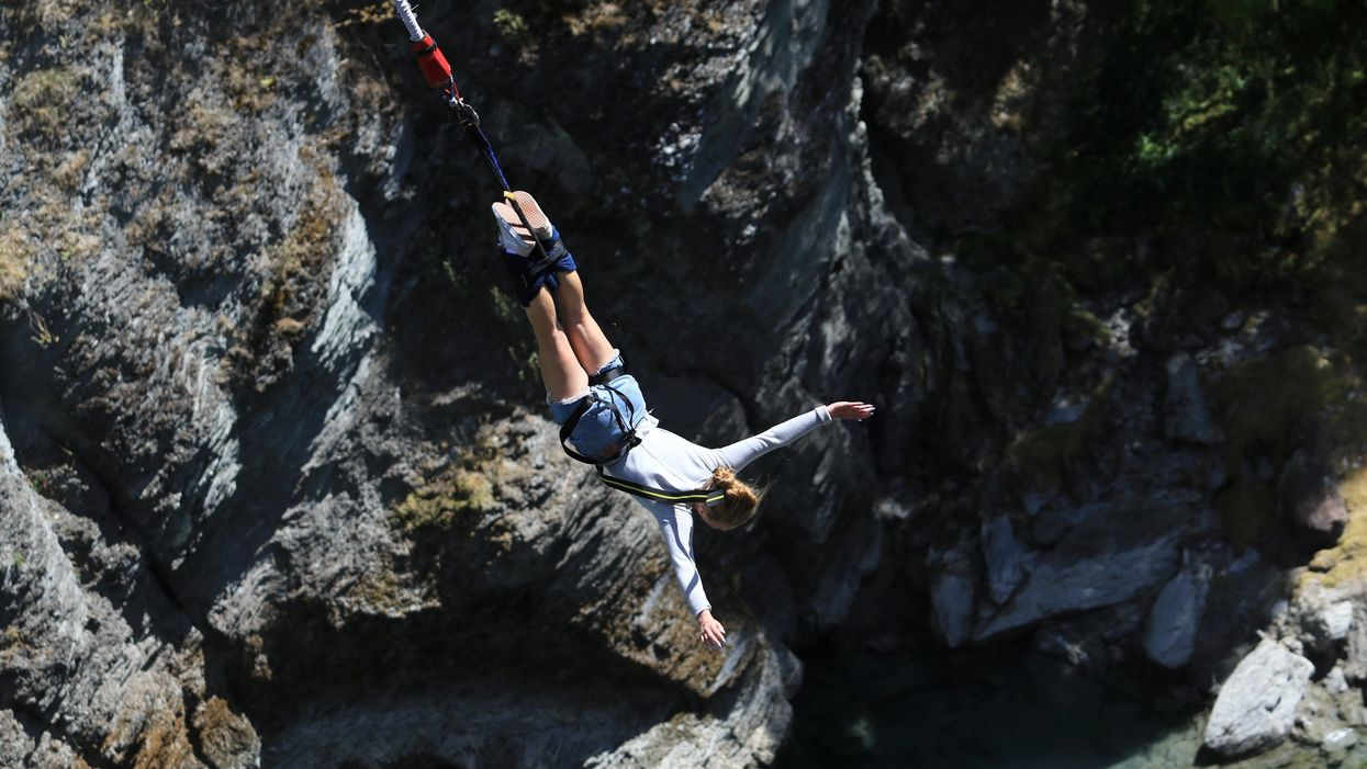bungee jumping enhances cognition