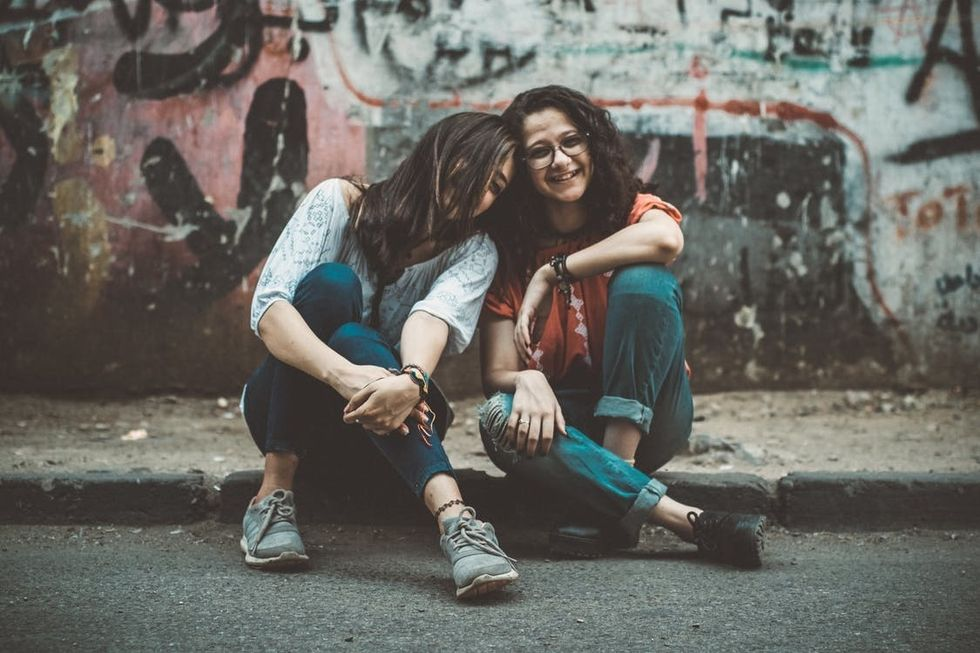 two friends that are girls