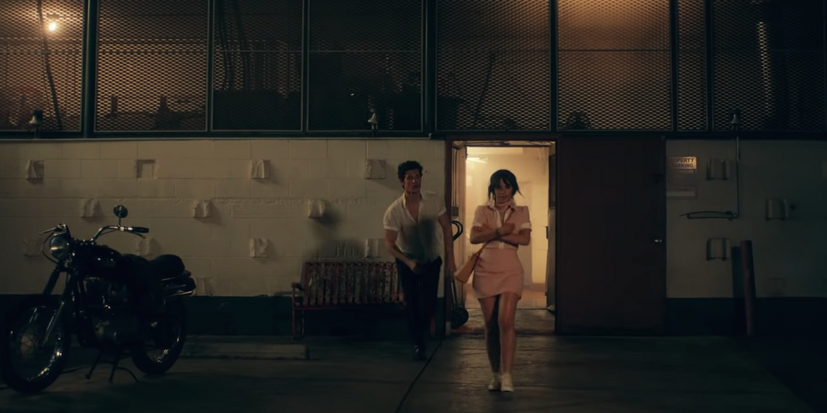 """Shawn Mendes And Camila Cabello Can't Keep Their Hands Off Each Other In """"Señorita"""" Video"""