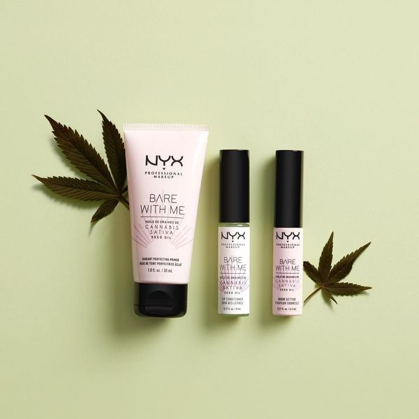 Nyx  Launches Bare With Me Cannabis Sativa Seed Oil Collection